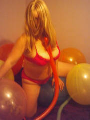 Here I sit upon a balloon pushing all my weight down on it, trying my hardest to burst it with my bum making tingle all over when it pops, especially between my legs. cumm peek at more of this tantalising pierced fetish womans balloon popping pictures..